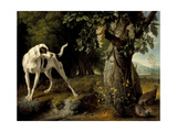 Landscape with a Dog and Partridges  1719