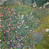 Italian Horticultural Landscape, 1913 Reproduction d'art par Gustav Klimt
