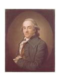 Portrait of Christian Friedrich Voss (1724-179)