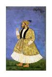 Portrait of Sayyid Shah Kallimullah Husayni  Ca 1675