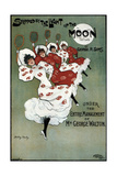 Poster for the George Sims Comedy Skipped by the Light of the Moon  1896
