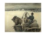 On the Road to Yasnaya Polyana  1903