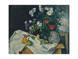 Still Life with Flowers and Fruit  1889-1890