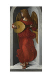 An Angel in Red with a Lute  C 1490-1499