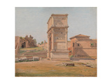 The Arch of Titus in Rome  1839