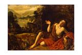 Saint John the Baptist in the Desert  1630