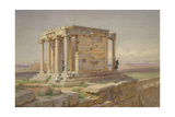 The Temple of Athena Nike View from the North-East  1877