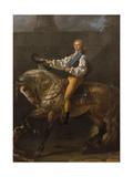 Equestrian Portrait of Stanislaw Kostka Potocki (1755-182)