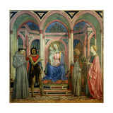 The Santa Lucia De' Magnoli Altarpiece  Ca 1447
