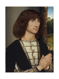 Portrait of a Young Man Praying  Ca 1485