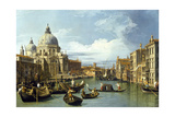 The Entrance to the Grand Canal  Venice  Ca 1730
