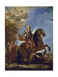 Equestrian Portrait of Charles II of Spain  before 1694