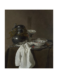 Still Life with a Pewter Flagon and Two Ming Bowls  1651