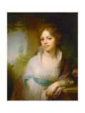 Portrait of Maria Lopukhina  1797