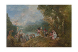 Pilgrimage to Cythera (Embarkation for Cyther)  1717