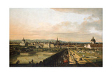 Vienna Viewed from the Belvedere Palace  1759-1760