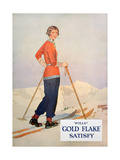 Advert for Wills' 'Gold Flake' Cigarettes  1930