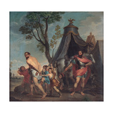 Camillus and the Schoolmaster of Falerii  1635-1640