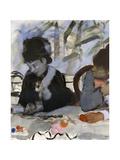 Au Cafe, C1877-1880 Giclée par Edgar Degas