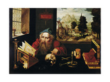 Saint Jerome in His Cell  1520S