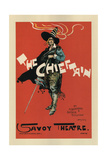 Poster for the Oper the Chieftain  1894