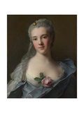 Portrait of Manon Balletti  1757