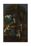 The Virgin of the Rocks  Between 1492 and 1508