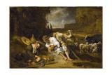 Mercury and Argus  1645-1647