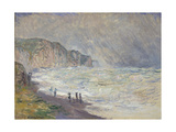Heavy Sea at Pourville  1897