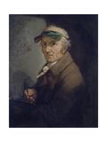 Self-Portrait with Eye-Shade  1813