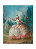 Portrait of Barbara Campanini (1721-179)  known as La Barbarina  1721