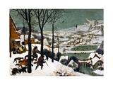 Hunters in the Snow (Winte), 1565 Giclée par Pieter Bruegel The Elder