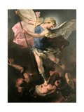 Saint Michael the Archangel  Ca 1663