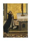 Saint Peter Martyr at Prayer  1493-1499