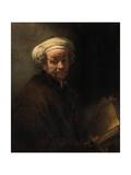Self Portrait as the Apostle Paul  Ca 1661