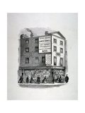 James Rimell's Bookshop  Soho House  Corner of Dean Street and Oxford Street  London  C1860