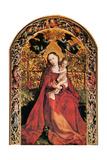 Madonna in Rose Garden  1473