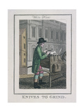Knives to Grind  Cries of London  1804