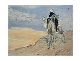 Sandstorm in the Libyan Desert  1914