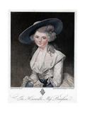 The Honourable Miss Bingham  18th Century