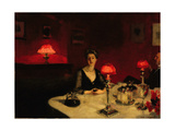 A Dinner Table at Night  1884