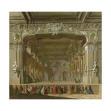 The Interior of a Theatre  Early 18th C