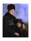 Dachau Woman with Child  1873-1874