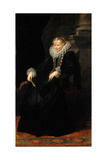 Portrait of a Genovese Lady  C 1621