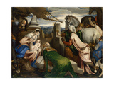 The Adoration of the Magi  Ca 1555