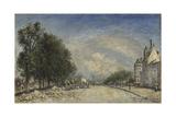 The Boulevard De Port-Royal  Paris  1877