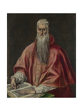Saint Jerome as Cardinal  1590-1600