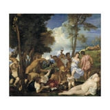 The Bacchanal of the Andrians  1523-1526