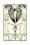 Illustration for the Mirror of Love by Marc-André Raffalovich  1895
