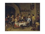 Twelfth Night Party  1650-1660